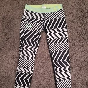 UNDER ARMOUR 3/4 TIGHTS COMPRESSION WOMENS XS